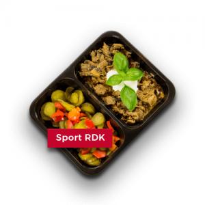 Dieta sportowa RDK wysokobiałkowa